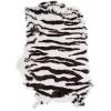 Rabbit Fur Skin - Medium Grade Dyed Zebra (1pc)